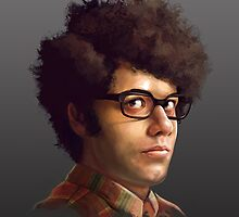 Richard Ayoade by Josh Ruiz