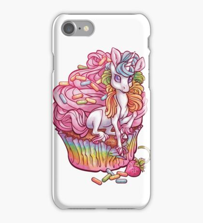 Unicorn in my cupcake iPhone Case/Skin