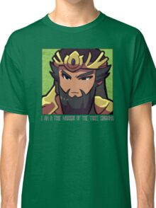 Dynasty Warriors Guan Yu of Shu chibi Classic T-Shirt
