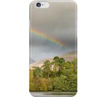 Ribbon Rainbow Above Grasmere II iPhone Case/Skin