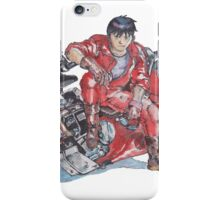 Akira by Katsuhiro Otomo Watercolor Tribute to Kaneda iPhone Case/Skin