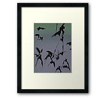 THE KNIGHT FLIGHT SMARTPHONE CASE (Dreams Of Gotham) Framed Print