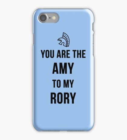Amy+Rory iPhone Case/Skin