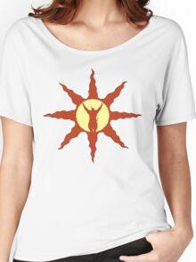 Sun symbol Women's Relaxed Fit T-Shirt