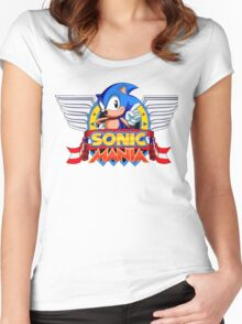 Sonic Mania Women's Fitted Scoop T-Shirt