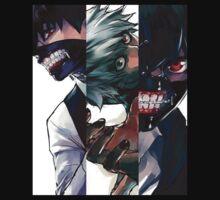 Kaneki's second nature - Tokyo Ghoul by DarkChild