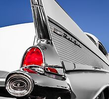 White 1957 Belair by dlhedberg