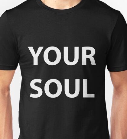 Your Soul Logo Reverse Colors Unisex T-Shirt