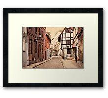 The City of Nicolaus Copernicus Framed Print