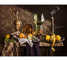 Still Life with Roemer & Lemons Photographic Print
