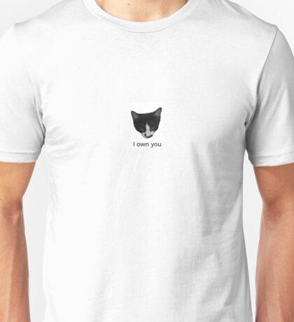 Tuxedo Cat Unisex T-Shirt