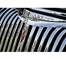 1946 Chevrolet Grill Photographic Print