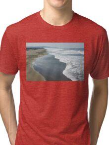 San Francisco Fog - Ocean Beach Layers, Textures and Forms Tri-blend T-Shirt