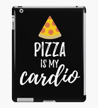 Pizza Is My Cardio iPad Case/Skin