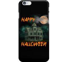 Haunted Mansion - Happy Halloween iPhone Case/Skin