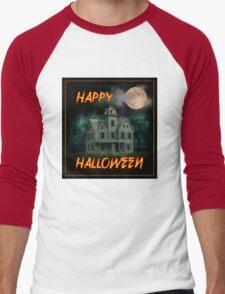 Haunted Mansion - Happy Halloween Men's Baseball ¾ T-Shirt