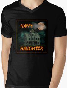 Haunted Mansion - Happy Halloween Mens V-Neck T-Shirt
