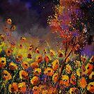 Orange Poppies  454101 by calimero