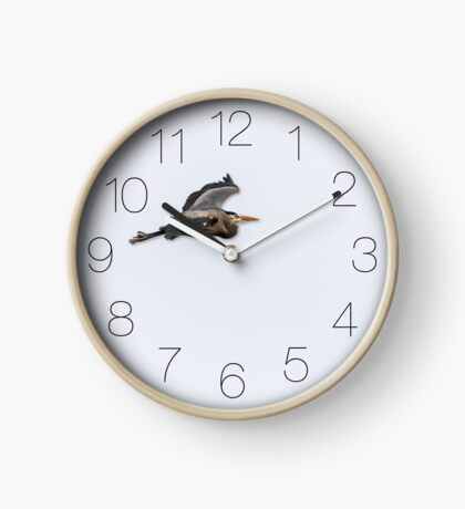Great Blue Heron Clock Clock