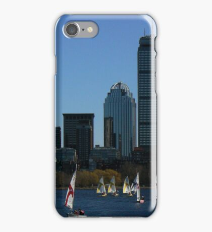 Boston In The Summer iPhone Case/Skin