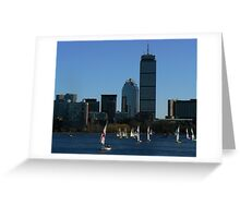 Boston In The Summer Greeting Card