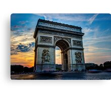 Arc De Triomphe 3 Canvas Print