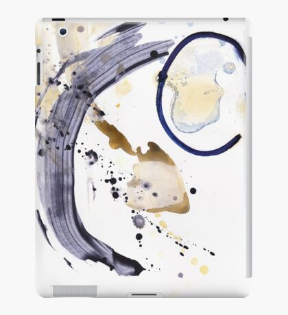 Oil and Water #123 iPad Case/Skin