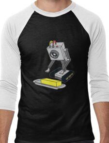 Rick & Morty Pass The Butter Men's Baseball ¾ T-Shirt
