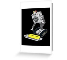 Rick & Morty Pass The Butter Greeting Card