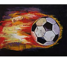 Soccer Photographic Print