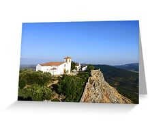 Church in the sky Greeting Card