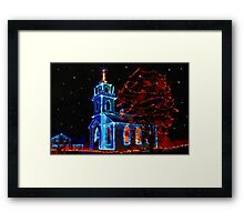 Tis the Season - painted Framed Print