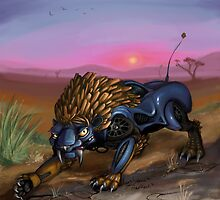 Saber Tooth Car by FeralToaster