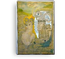 The Sheep.;- Chinese Horoscopes, Your Year. Canvas Print