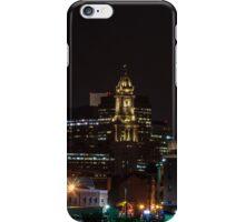 Marriott Custom House at Night iPhone Case/Skin