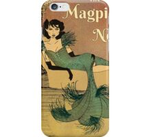 Cover art for The Magpie's Nest by Jacqueline Perry-Strickland iPhone Case/Skin