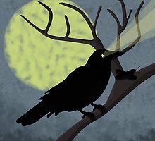 Crow by NirPerel
