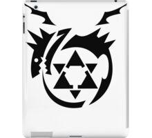 Black Homunculus Symbol Fullmetal Alchemist iPad Case/Skin