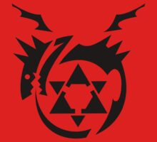 Black Homunculus Symbol Fullmetal Alchemist by LeetZero