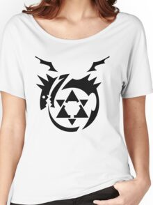 Black Homunculus Symbol Fullmetal Alchemist Women's Relaxed Fit T-Shirt