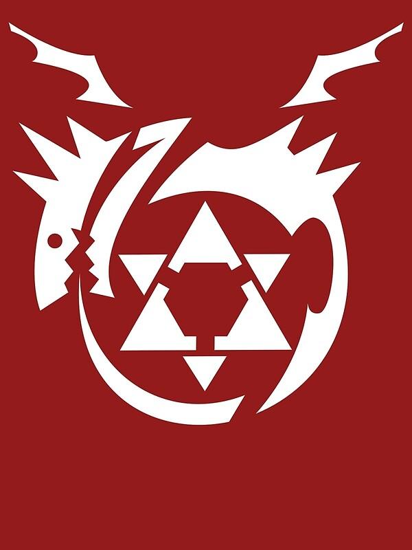 "White Homunculus Symbol Fullmetal Alchemist"" Framed Prints by ..."