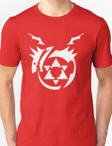 White Homunculus Symbol Fullmetal Alchemist Unisex T-Shirt