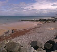 Sheringham Costal View  by Natalie Grace Chambers