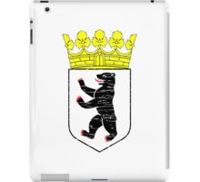 Coat of arms of Berlin iPad Case/Skin