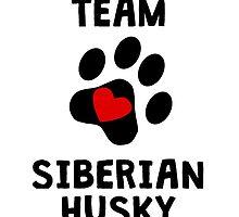 Team Siberian Husky by kwg2200