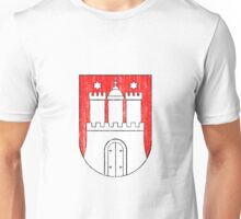 Coat of arms of Hamburg Unisex T-Shirt