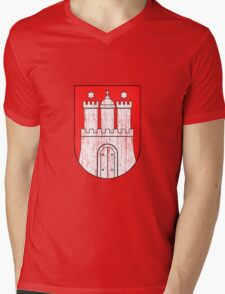Coat of arms of Hamburg Mens V-Neck T-Shirt