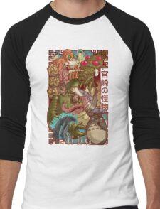 Myazaki's Monsters Men's Baseball ¾ T-Shirt