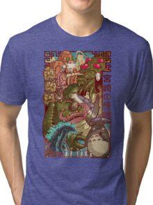 Myazaki's Monsters Tri-blend T-Shirt