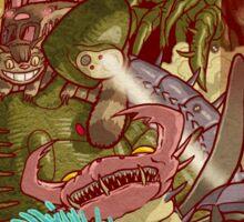 Myazaki's Monsters Sticker